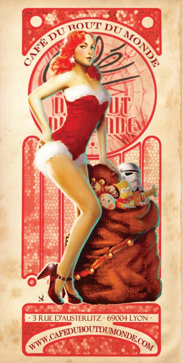 Exceptional Pin Up De Noel #3: PIN UP DE NOËL !